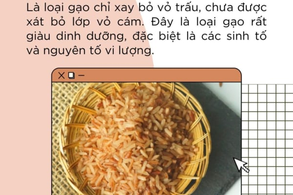 Gạo lứt là gì? Có bao nhiêu loại gạo lứt?